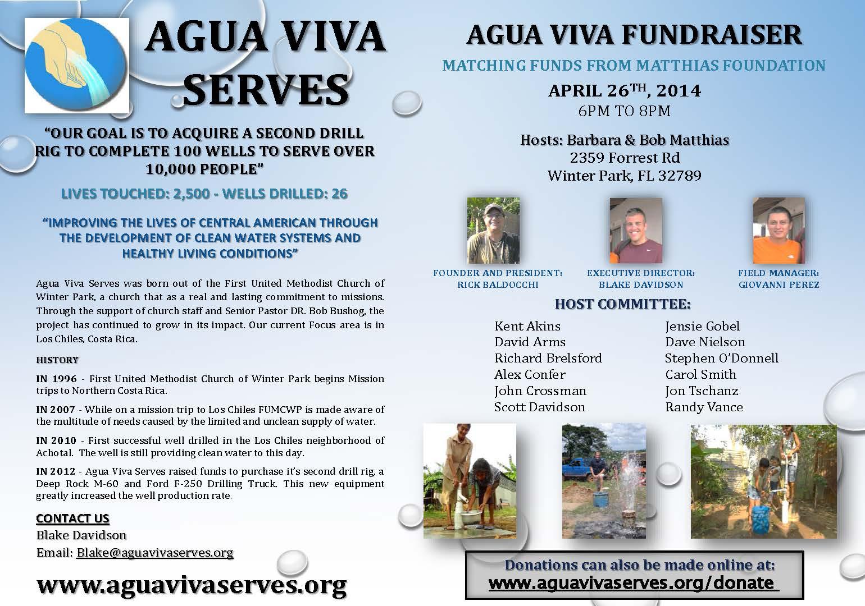 Agua viva Flyer