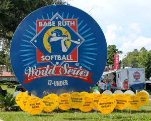 World Series Sign and Participating Team Signs