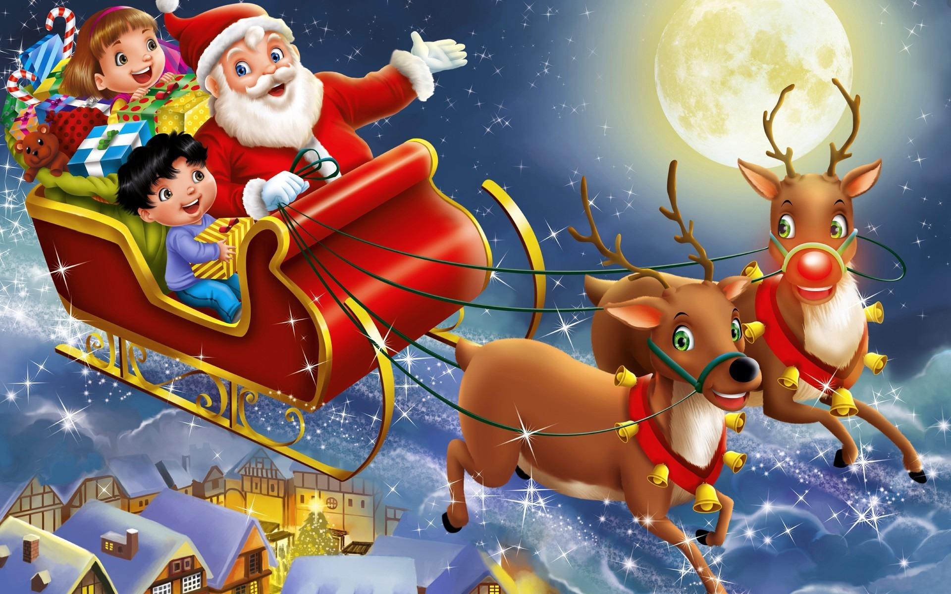 santa claus is coming to town the park press