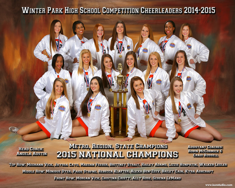 WPHS National Cheerleaders