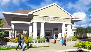 Rendering of the Morgan & Morgan Home – A Safe Haven for Families