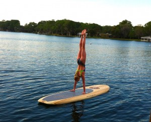 Rent a paddleboard - $25, bring your own $10. A portion of the proceeds go directly to Best Buddies of Florida.