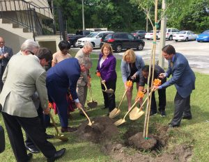Wayne Densch Tree Planting