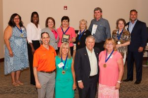 Orange County Mayor Teresa Jacobs and the Board of County Commissioners honor Community Champions at the 2016 Orange County Community Conference.