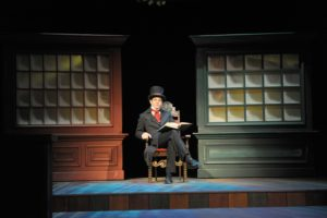 Timothy Williams stars in Orlando Shakespeare Theater's 2009 production of Every Christmas Story Ever Told (And Then Some!). Photo by Tony Firriolo.