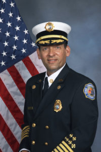 Orange County Fire Chief Otto Drozd III